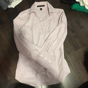 Express lilac dress shirt